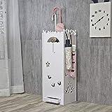 LINlizong Schirmständer, Regenschirm Regal WPC Brett Storage Rack Haushalts Herausnehmbare Bodenstehende, for Home Office Flur