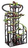 fischertechnik 544619 Kugelbahn Dynamic XXL mit einer einzigartigen Streckenlänge, Rainbow-LED, Looping, Stop & Go, 5,6m