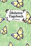 Diabetes Tagebuch für 54 Wochen: DIN A5 Blutzucker Tagebuch für Diabetiker, mit Medikamenten Plan und übersichtlichen Wochen Plan, für 54 Wochen. Zum ... Blutzuckerwerte. Mit schönem Blumen Cover.
