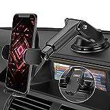 Mpow Handyhalterung Auto, Handyhalter fürs Auto Lüftung,Amaturenbrett & Windschutzscheibe 2 in 1 Universale KFZ Handyhalterung Smartphone Halterung für iPhoneSE 2020/11/GalaxyS20/Note10/HUAWEI LG usw