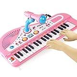 Digitalpiano, Blue Piano Kid Verstellbares, langlebiges E-Piano E-Piano, für Kinder Teenager(powder)