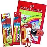 Faber-Castell 110906 - Buntstifte Jumbo Grip Set