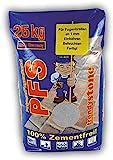 trendystone Polymerfugensand 25 kg Basalt-anthrazit - Pflasterfugenmörtel für schmale Fugen ab 1 mm Fugenb