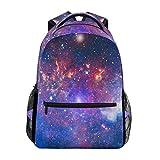 Shiny Galaxy Spacce Sternennacht Jungen Mädchen Schule Computer Rucksäcke Büchertasche Reisen Wandern Camping Daypack