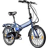 ZÜNDAPP Z101 20 Zoll E Bike Faltrad Damen Herren Elektrofahrrad klappbar Fahrrad Elektro Klapprad Ebike Pedelec E-Bike Erwachsene Klappfahrrad