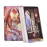 Auf Lager Sorcerer Oracle Tarot Cards Englisch Lesen Sie das Schicksal Brettspiel Oracle Card Deck Games für Party Personal Entertainment