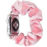 CHENPENG Elastisches Uhrenarmband Kompatibel mit elastischen Ersatzarmbändern der Apple Watch Fancy Elastic Hair Wristbands Replacement,10