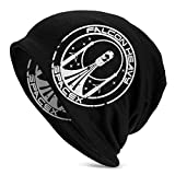 XCNGG Falcon Heavy Spacex Erwachsene Soft Slouchy Beanie Hats Täglich Long Baggy Skull Cap