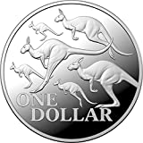DEUTSCHER MÜNZEXPRESS Australien Rotes Känguru Silbermünze 2020 | Sammlermünze | Feinsilber | mit Echtheitszertifikat