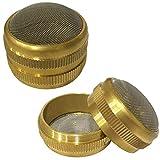 Jewellers Tools XL-Messing-Korb-Teilehalter, Ultraschall-Reinigungsnetz, Schraub-Typ, Uhrenwerkzeug, 50 mm