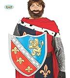 Guirca Schild mit Wappen für Römer Ritter Gladiatoren Karneval Fasching Kampf 57 x 47
