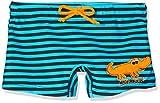 Beco Jungen Badehose Krokodil-Aqua Schwimmkleidung, Blau-Schwarz, 92