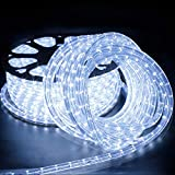 Forever Speed 20M LED Lichterschlauch Lichterkette Schlauch Leiste Außen und Innen Kaltweiß