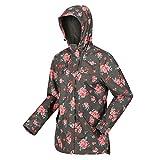 Regatta Womens Bertille Shell Jacket, GrapLfFloral, 3X-Large