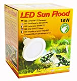 Lucky Reptile LED Sun FLOOD 18W, leistungsstarke LED Lampe mit E27 Fassung
