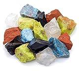 Großes Edelsteine Set (gemischt) 300g | Heilsteine | Edelstein Trinkwasser | Wassersteine | Grundmischung | Kristalle | Mineralsteine | Energetisieren (5 Elemente)