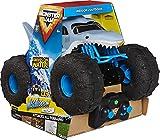 Monster Jam Megalodon Storm, ferngesteuertes Amphibienfahrzeug in Hai-Optik für Land und Wasser, Maßstab 1:15