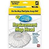 Hurricane BulbHead Spin Mop Ersatz-Moppkopf, B