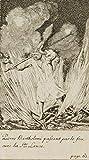 H. W. Fichter Kunsthandel: CHODOWIECKI, Peter Bartholomäus mit Lanze in der Feuerprobe, 1782, R