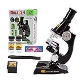 LeftSuper Kinder Kinder Junior Mikroskop Science Lab Kit mit Licht Bildung Spielzeug Geschenke Wissenschaftliche Instrumente Pädagog