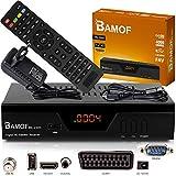 hd-line Bamof 2305 Digital Satelliten Sat Receiver - (HDTV, DVB-S/S2, HDMI, SCART, 2X USB 2.0, Full HD 1080p) [Vorprogrammiert für Astra Hotbird Türksat] [Energieklasse A+++]