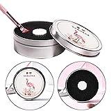 Make-up-Pinselreiniger, 2 Schwamm, Entfernung von Farben, für Pinsel, Make-up-Pinsel, keine Notwendigkeit, schnelle Reinigung von Puder, Kosmetikprodukten