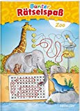 Bunter Rätselspaß Zoo (Rätsel, Spaß, Spiele)