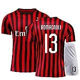 PUPPYY Milan9 # 10 # 13 # 19 # 21 # 22 # 20 – 21 (Home & Away) Fußballtrikot, Fußball-Geschenk Gr. S, 13#