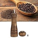 Emoshayoga Küchen-Schleifer Exquisite Holz-Pfeffer-Schleifer für Restaurant für Gewürze(8 inches, Blue)
