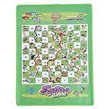 Eleusine Schlangen- und Leiterspiel Set-Portable Game, geeignet für alle Altersgruppen | Spaßgeschenke für Kinder und Erw