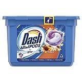 Dash All in 1 Pods Waschmittel in Kapseln, 15 Waschgänge, Bernsteinduft, entfernt Flecken, für alle Kleidungsstücke