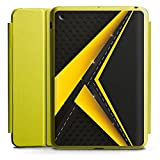 DeinDesign Apple iPad Mini 4 Smart Case Hülle Tasche mit Ständer Smart Cover Schwarz Gelb Muster Straße
