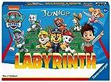 Ravensburger Kinderspiele Paw Patrol Labyrinth, 20799, das bekannte Brettspiel von Ravensburger als Junior Version für Kinder ab 4 J