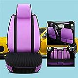 Upupto Universal-Autositz deckt den vollen Polyester-Stoff, innen Reißverschluss-Design und reservierte Öffnungslöcher Airbag kompatibel innen, 9 stücke,L