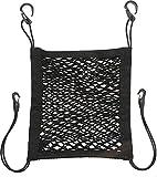 Lescars Gepäcknetz: Kfz-Rückenlehnen-Aufbewahrungsnetz, 30 x 28 cm, elastisch (Netz)