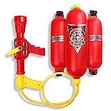 Schramm® Wasserspritze Feuerwehrspritze mit Rückentank Wasserpistole Feuerlöscher Wasser Pistole Wasserpistolen Wassergewehr Water Gun Watergun Feuerwehr Wasser Spritze