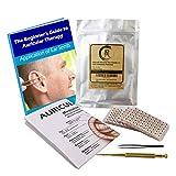 Akupunktur Vaccaria Ohrsamen 600 Stück, eBook 19 Gesundheitsprobleme, Ohrsonde, Englisch/Chinesisch Platzierungsdiagramm, Pinzette