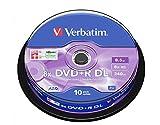Verbatim D/L DVD+R Rohlinge (8x Speed, 10-er Stück Spindle)