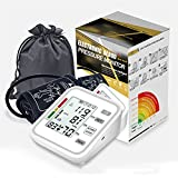 RONGXI Tonometer digitaler Blutdruckmessgerät, zum Messen des arteriellen Drucks, der Manschetten-SPHYGMO-Manometer-Oberarm BP, mit einem lrregulären Heartbeat-Detektor