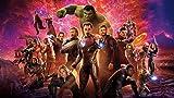 Avenger Papierfoto Tapete Kinderzimmer TV Hintergrund - Cartoon-Stil Iron Man