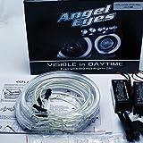 CCFL ANGEL EYES STANDLICHTRINGE RINGE STANDLICHT 4 x 131 mm CANBUS E46 E39 E38 E36 Weiß 6000 K Angel Eyes Halo Ring