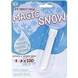Zauberschnee Magic Snow - 20 Gramm Zauberschneepulver - Ergibt etwa 2 Liter Kunstschnee