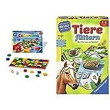Ravensburger 24921 - Colorama - Zuordnungsspiel für die Kleinen - Spiel für Kinder ab 3 bis 6 Jahren & Tiere füttern - Spielen und Lernen, Lernspiel für Kinder ab 3-6 Jahren, Spielend Neues Lernen