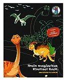 URSUS 24530002F Mein magisches Kratzelbuch Drachen & Dinos, Kratzbildern, ca. 21 x 26 cm groß, mit tollen Farbeffekten und 12 Mandalas zum Ausmalen, inklusive Holz-Stick, b