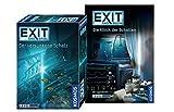 EXIT - Das Spiel: Der versunkene Schatz Buch: Die Klinik der Schatten, Set für Einsteiger ab 10 Jahren