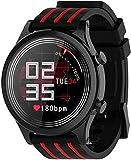hwbq Smartwatch 1,28 Zoll Full Touch Screen Fitness Tracker IP68 Wasserdicht Fitness Uhr Puls Schrittzähler Kalorienzähler Schwimmuhr