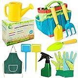 Gartengeräte für Kinder,Gartenspielzeug Set,Spielwerkzeuge für den Strand/Garten,Gartenwerkzeug Set Im Freien,Kids Gardening Tools,Kindergarten Gießkanne,Gießkanne für Kinder