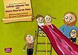 Bilderbuchgeschichten für unser Erzähltheater: Ludwigs seltsamer Tag oder: Unsere Neue ist ein Mann Kamishibai Bildkartenset. Entdecken. Erzählen. ... Erzählen - Begreifen: Bilderbuchgeschichten.