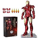 ZT 10. Jahrestag 17,8 cm Deluxe Sammler Iron Man MK4 Actionfiguren