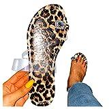 Vectry Damen Schuhe Frauen Flache Sandalen Lässige Flip Flops Böhmischen Stil Ring Toe Strappy Sommersandalen Bequeme Strandsandalen Offene Zehen Flache Sandalen(Braun,41 EU)